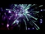 Салют и фаер шоу Открытие сезона на Лазурном берегу Евпатория 2017. Fire show and fireworks