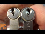 This guy has made almost 1000 videos about picking all sorts of locks. These were the locks he was not able to open.