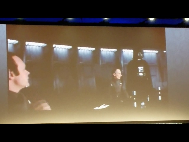 Grand Moff Tarkin Peter Cushing RARE Outtake Star Wars Celebration Archival Footage 1977