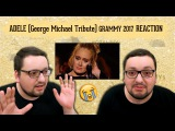 Adele (George Michael Tribute) LIVE 2017 GRAMMY Performance (Russian's REACTION)
