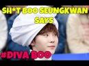 😂 SH*T Seventeen's Boo Seungkwan Says 😂