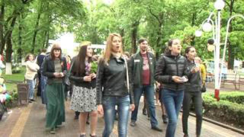 Празднование Дня Победы в Великой Отечественной войне в Новокубанском районе