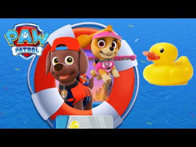 Paw Patrol Sea Patrol. Kids Games Online. Gameplay