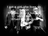 ZZ Top- Tube Snake Boogie (lyrics)