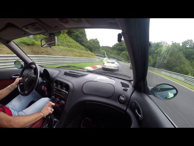 Alfa Romeo 156 2.5 210 Nurburgring 04082016 3° lap