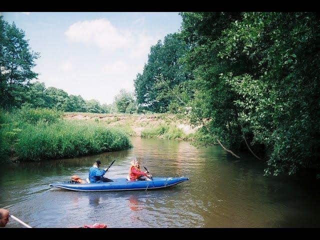 Водный поход река Ислочь. Сентябрь 2012 год