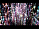 4K Colorful Relaxing Comets Pillar 2160p Motion Background