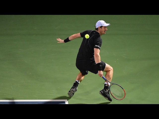 Hot Shot: Murray Turns Defence Into Offence In A Flash At Dubai 2017