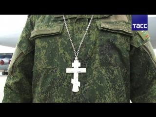 Полевую форму для военных священников разработали в Центральном военном округе