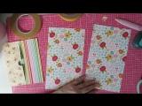 Tutorial Mini álbum con espiral escondida - Por Sonia Vilar