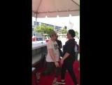 Zac Efron and Jon Bass IGStories  Baywatchmovie #SlowMoChallenge