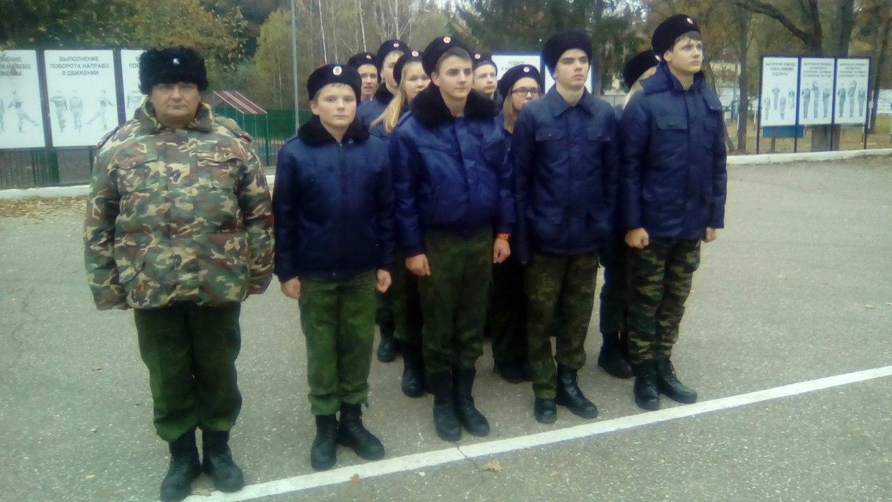 Очередной выезд кадет в лагерь