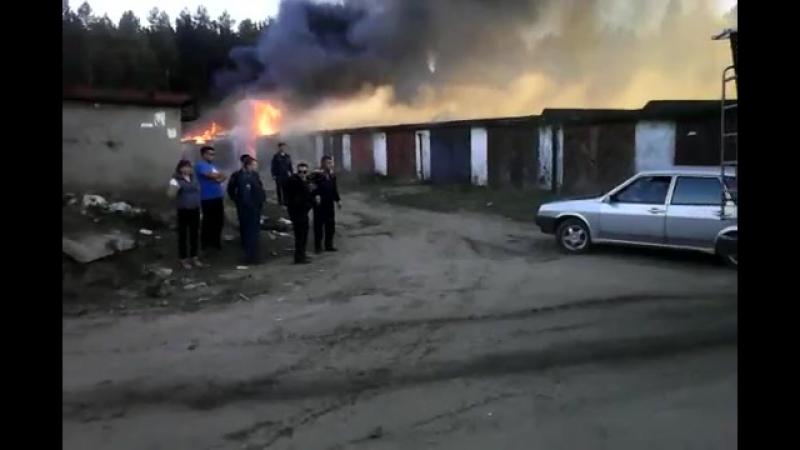 Самый большой пожар в Добрянке!Смотреть всем до конца!