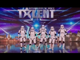Britains Got Talent 2016 S10E05 Boogie Storm Star Wars Inspired Cosplay Dance Crew Full Audition