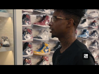 21 Savage Shopping in Stadium Goods с переводом [QUEENSxPAPALAM]