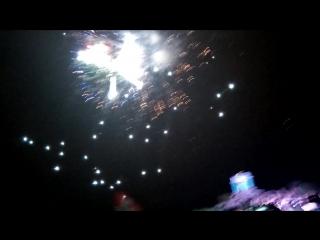 Факельное шествие: Завершение Концерта, Салют на Митридате, 08.05.17