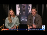 Sam Rubin Chats With Jeremy Renner Elizabeth Olsen On -Wind River