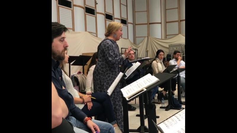 Anna Netrebko and Riccardo Muti Rehearsing Aida in Salzburg