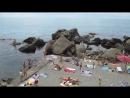 Крым. Алупка. Детский пляж. Июль 2017 г.