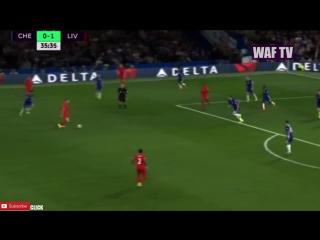 Jordan Henderson AMAZING GOAL - Chelsea Vs Liverpool (1-2)