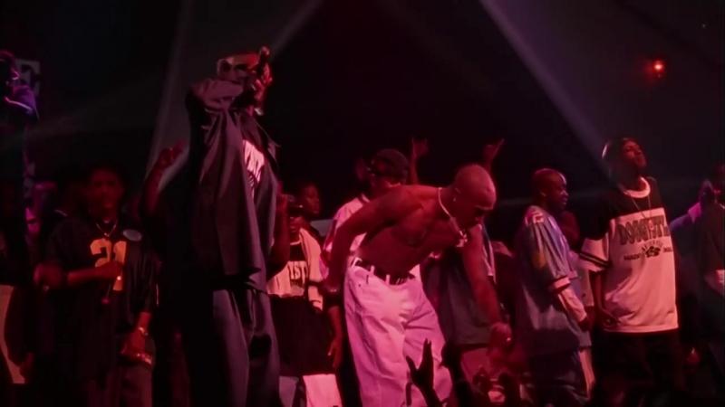 Последний концерт Тупака Шакура 1996г отрывок(Gangsta Party)