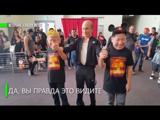 Маски-шоу: Путин, Трамп и Ким Чен Ын вдохновили американского художника