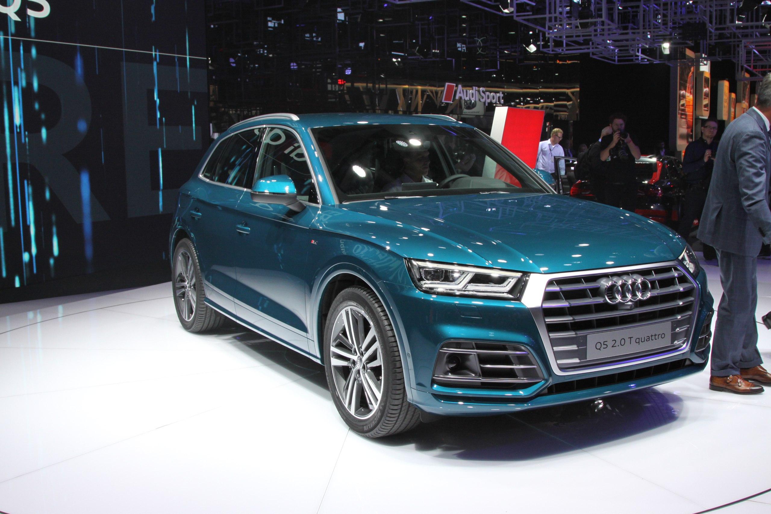 Audi Q5: премьера нового роскошного кроссовера