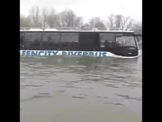 Автобус, который умеет плавать