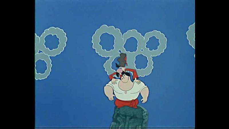 Как казаки олимпийцами стали мультфильм СССР 1978 год Полная реставрация изображения и звука