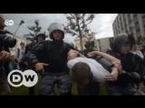 В Москве задержаны сотни участников митинга оппозиции