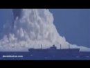 See What happens to a ship after a Under water Nuclear Bomb Test.
