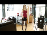 Striptease From The Boss Bopping Babes Stella Cox ( fetish milf wet pussy big tits suck porn anal мамка сосет порно анал шлюха ф