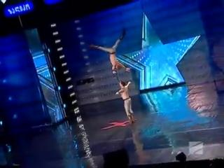 Украинские гимнасты покорили жюри грузинского телешоу!