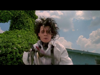 Эдвард руки-ножницы / Edward Scissorhands (1990) BDRip 720p [vk.com/Feokino]