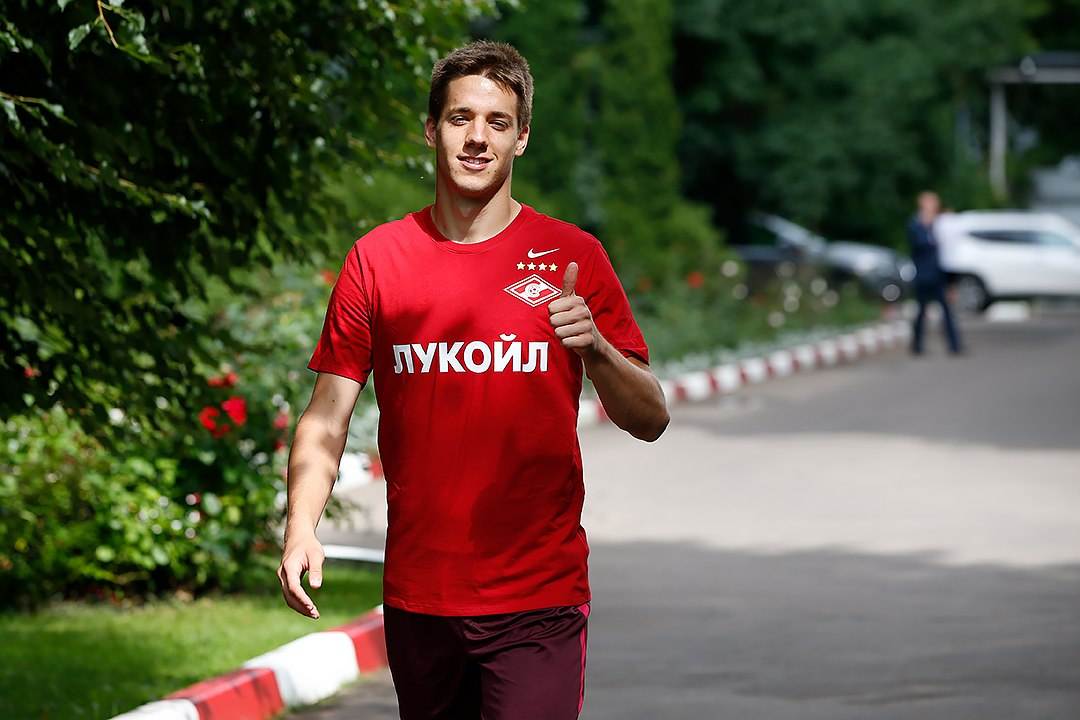 Полузащитник «Спартака» Пашалич вызван в сборную Хорватии