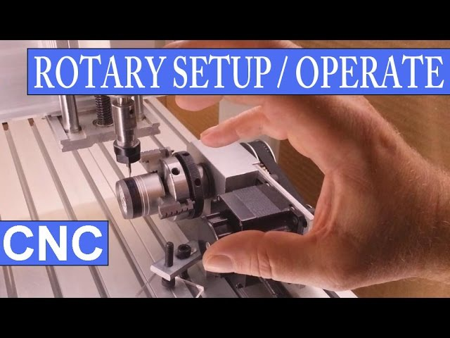 CNC 3020T-DJ/Mach3 - How To Setup And Operate Its Rotary Axis – A Complete Run
