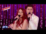 Frank &amp Nancy Sinatra Something Stupid David Thibault &amp Hiba Tawaji The Voice 2015 Demi-Finale