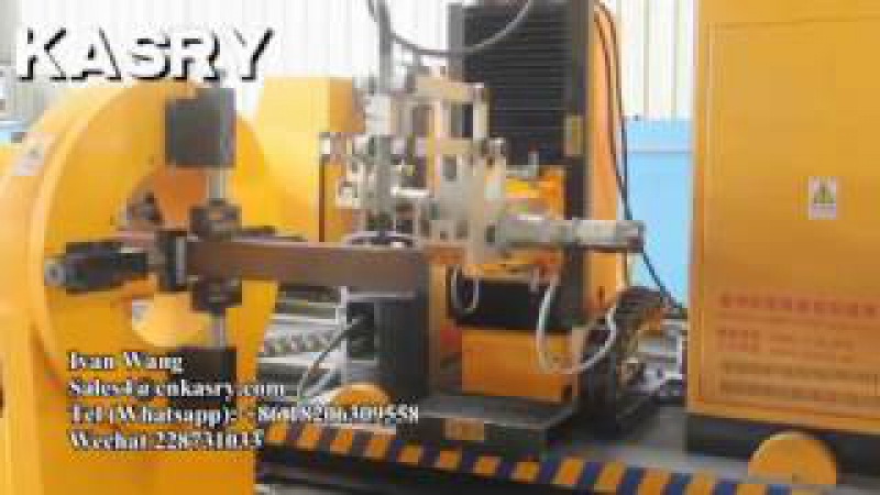 KASRY KR-XF8 axis square pipe cutting