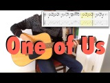 Joan Osborne - One of Us (fingerstyle cover, tabs, lyrics)