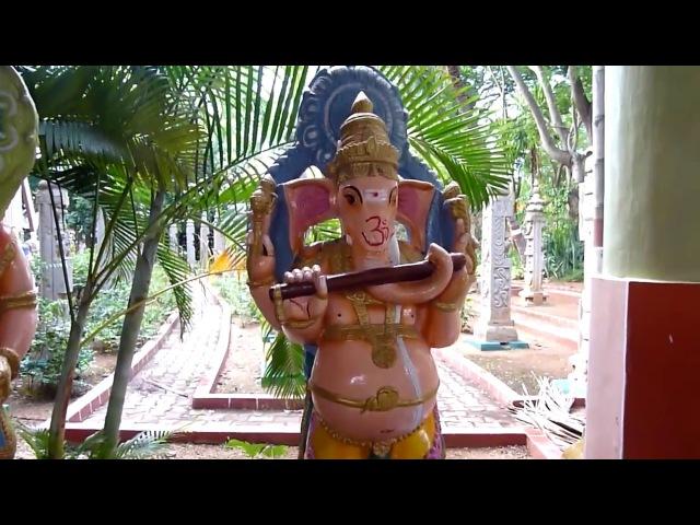 Прогулка по Датта Ашраму Шри Ганапати Свамиджи. Avadhoota Datta Peetham