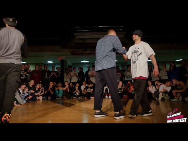 HIP HOP PRO 1X1 | 1/2 FINAL DAM'EN vs. JEKA (WIN)| MOVE FORWARD DANCE CONTEST 2017 [OFFICIAL VIDEO]