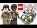 LEGO Star Wars The Last Jedi Resistance Transport Pod review! 2017 set 75176!