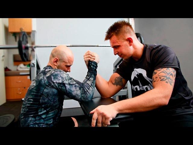 Do4a против блогера Тилэкса! MMA и немного армрестлинга!