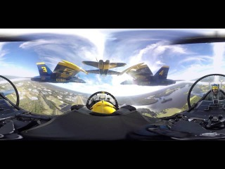 Experience the Blue Angels in 360-degree video