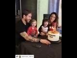 Пилар и детки поздравили Серхио