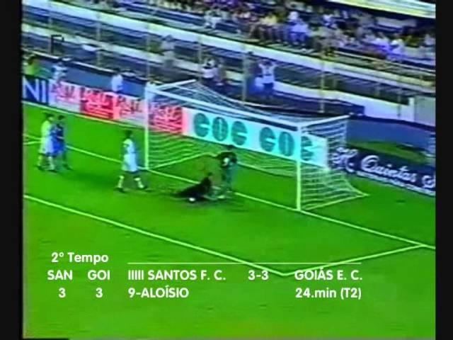 Santos 3 X 4 Goiás - Copa do Brasil 1999 - Vander Luís (Jovem Pan)