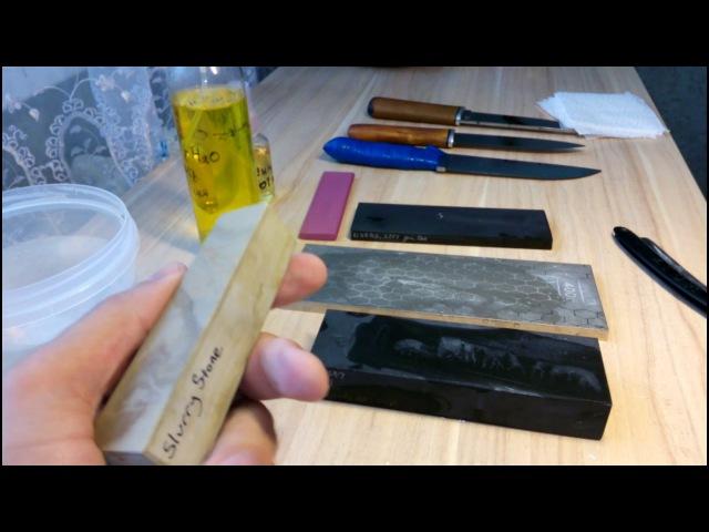 Природный точильный камень/слурик Calico Rock, США, от www.ru-chef.ru/
