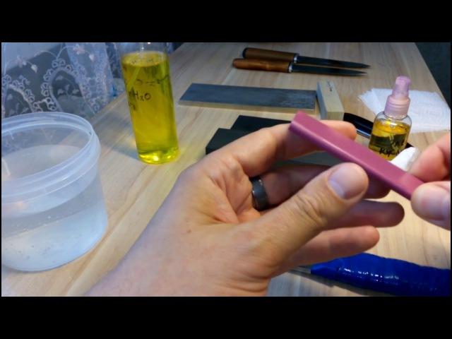 Точильный камень Idahone(розовая керамика) США,от www.ru-chef.ru/