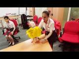 Mannequin Challenge Air Arabia Cabin Crew UAE