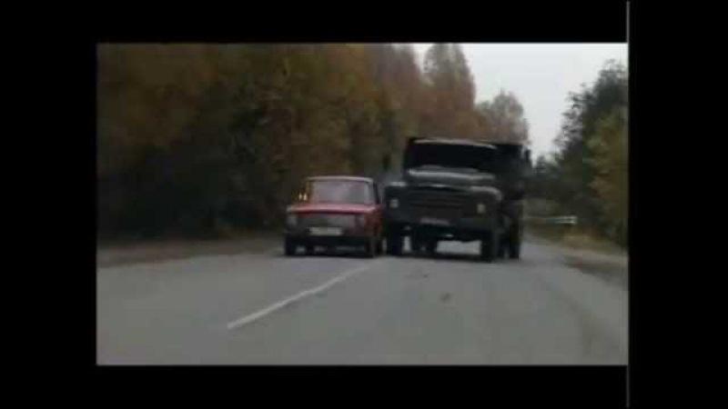 Русский Транзит (1994) - car chase scene
